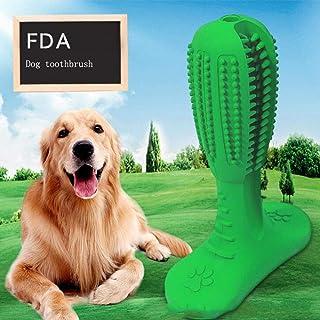 لعبة عصا عض فرشاة اسنان للتنظيف والتدليك والعناية باسنان الحيوانات الاليفة والكلاب مصنوعة من المطاط الطبيعي من بيونتي
