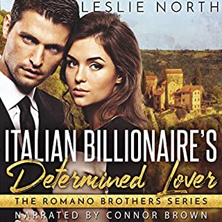 Italian Billionaire's Determined Lover audiobook cover art