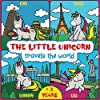 The little unicorn travels the world: coloring book for kids +3 years, discover the countries of the world.