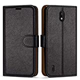Case Collection Premium Leather Folio Cover for Nokia 1.3