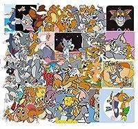 トムとジェリー 猫とネズミ Tom and Jerry アメリカアニメ 人気アニメ ステッカー49枚
