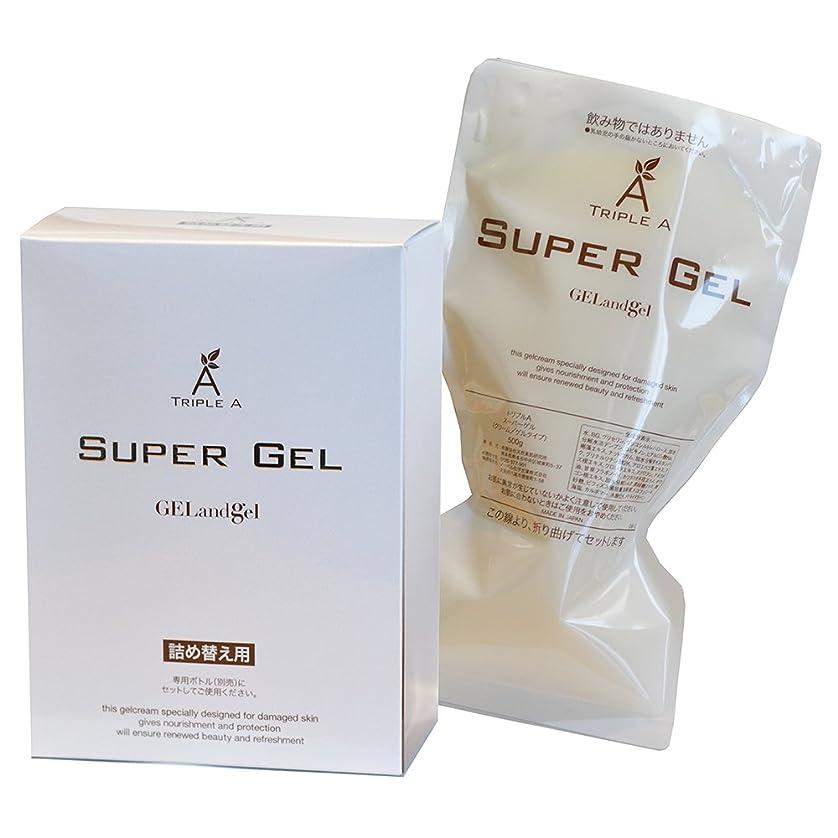 硬さ大きなスケールで見るとましいゲルアンドゲル スーパーゲル500