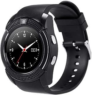 Fashionlook V8,Smart Watch, Men with Camera,Smartwatch,Pedometer, Heart Rate Monitor,Sim Card Wristwatch Smart Wristband