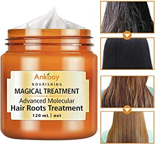Hair Mask for Dry Damaged Hair,2019 Keratin Hair Treatment, Hair Treatment Mask,Molecular Hair Roots Treatment,5 Seconds to Restore Soft Hair,Deep Conditioner