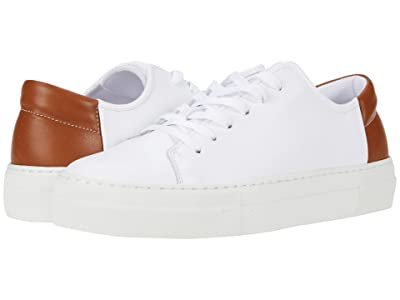 ABLE Emmy Sneaker (White/Cognac) Women