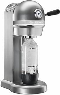 KitchenAid KSS3121OB Sparkling Beverage Maker powered by SodaStream - Onyx Black, Onyx Black (Renewed)
