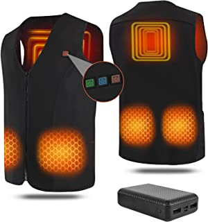 Sponsored Ad - Heated Vest for Men Women,Genovega Graphene Heated Jackets Battery Powered Electric Rechargeable Washable, ...
