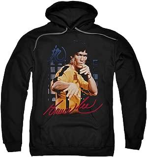 Men's Yellow Jumpsuit Hooded Sweatshirt Black