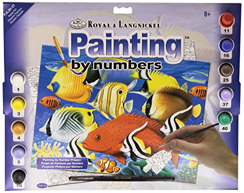 Royal & Langnickel PJL30 Peinture au numéro 11\
