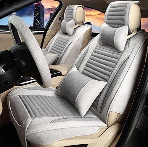 AMYMGLL Santé Coussin de voiture Set Linen Deluxe Edition (de 12set) Cinq Coussin Général voiture couverture des options Four Seasons Couleur 5 Universal , #30