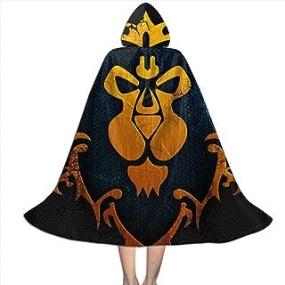 Alliance Logo - World of Warcraft Kid Halloween Cloak Cape with Hood Cosplay Costumes Robe