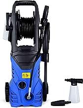 Goplus Electric Pressure Washer High Power Machine w/ 16.5ft Hose, Wash Brush, Soap Bottle, 2030PSI 1.6GPM 1800W (Blue)