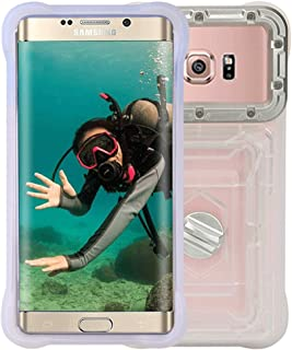 BOLLAER Waterproof Phone case Diving Photography Dry Bag, Enahnced Underwater Waterpoof Cell Phone Pouch, Surfing Swimming Snorkeling with Lanyard Compatible Samsung/iPhone/Google/LG.