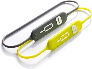 Lead Trend SIMカードホルダー S-keeper グレー/グリーン SIM 紛失防止 ケース 複数SIM microSDカード 収納可能[日本正規代理店品] LT12468