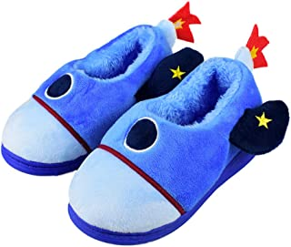 Image of Cute Space Rocket Slippers for Boys and Toddlers