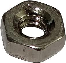 50x Tuercas hexagonales M4 7mm H3.3mm poliamida C19134 AERZETIX
