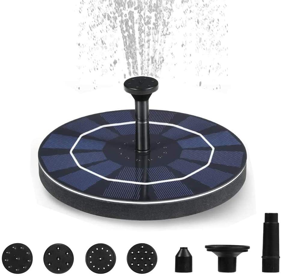 IDEALHOUSE Outlet sale feature Solar Fountain Outdoors Floating Wat Pump Cheap sale Water