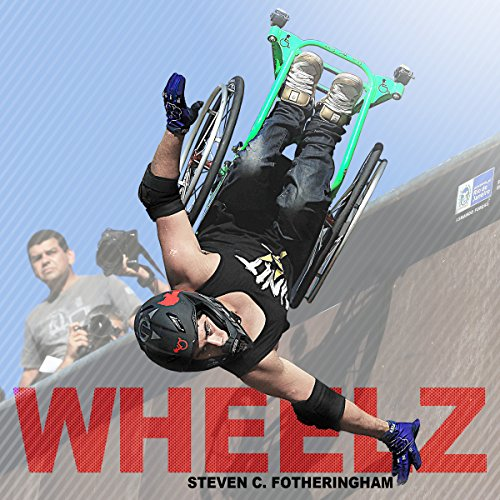 Wheelz audiobook cover art