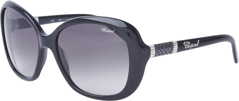 Chopard SCH 149 700Y Women Butterfly Black Precious Swarovski Crystals Sunglasses