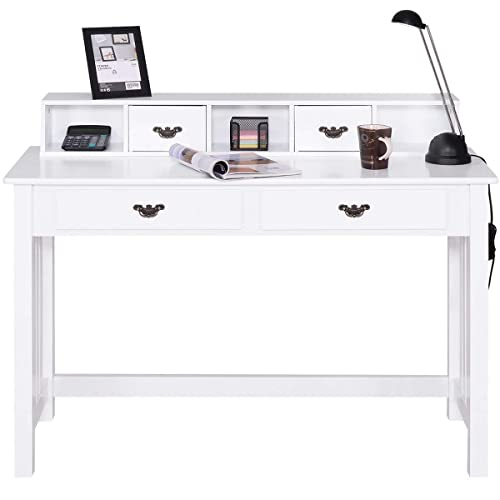 Awesome Writing Desks With Drawers Amazon Com Home Interior And Landscaping Dextoversignezvosmurscom