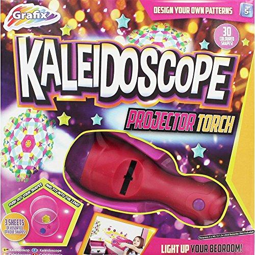 Kaleidoskop mit projektor - 30 Bunt Formen