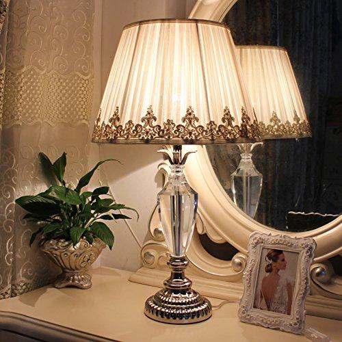SFSYDDY aansteker, eenvoudig, Europese, modern, creatief, luxe, woonkamer, bruiloft, warm, decoratie, licht verstelbaar, voor slaapkamer, bedlampje, beige, knoopschakelaar