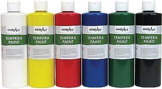 Handy Art Matte Tempera Paint, 6 per Set