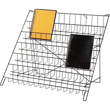 "12/¾/""H x 23/½/""W x 14 D SSWBasics 3-Tier Black Wire Countertop Rack"