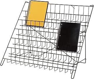 SSWBasics 6-Tier Black Wire Countertop Rack - 22