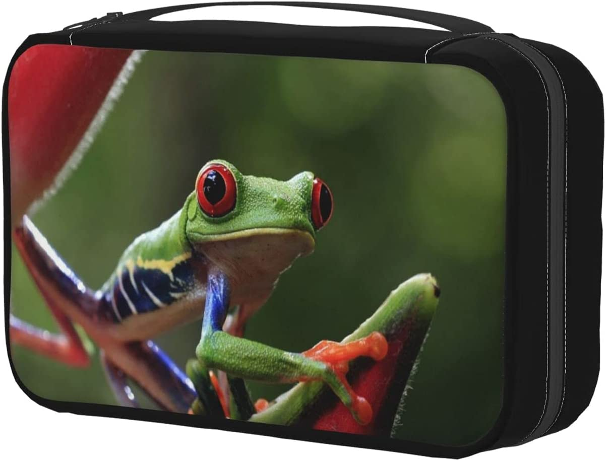 Ranking TOP3 Toiletry Bag Our shop OFFers the best service With Hanging Hook Puerto Tree Rico Make Frog Floral