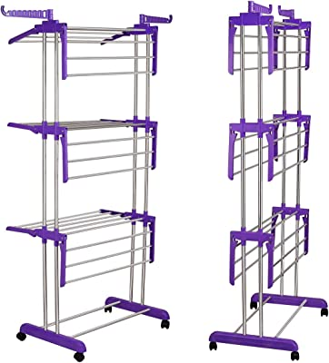 Primelife Stainless Steel Three Layer Modular Cloth Drying Stand