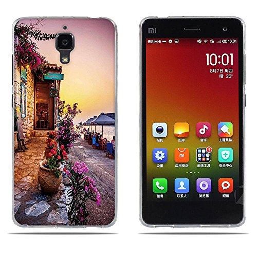 DIKAS per Xiaomi Mi 4 Cover, per Xiaomi M4 Custodia, Creative 3D UltraSlim Silicone TPU Sottile Skin Cover Protettiva Shell Custodia per Xiaomi Mi4 M4 - PIC: 01
