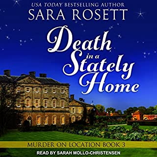 Death in a Stately Home     Murder on Location, Book 3              Written by:                                                                                                                                 Sara Rosett                               Narrated by:                                                                                                                                 Sarah Mollo-Christensen                      Length: 6 hrs and 30 mins     Not rated yet     Overall 0.0