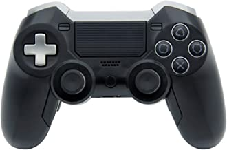 Elite Ps4 Controller with Back Paddles, Bluetooth, Compatible with Playstation 4 and PC, Audio Headphone Jack Plug in (Black)