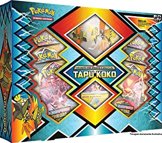 Pokémon Box Sol E Lua Tapu Koko Copag - 99199