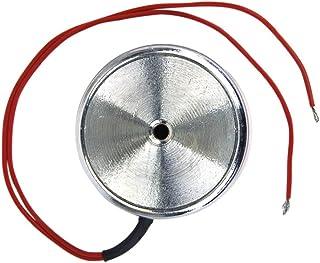 B Baosity Electroimán De Solenoide De Imán De Elevación Eléctrico De CC De 12 V Con Capacidad Para 500 N / 50 Kg, Potente Y Compacto (diámetro Interno 22 Mm)
