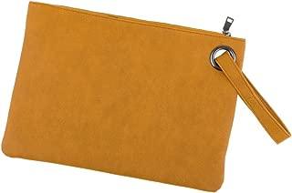 IPOTCH Oversized Clutch Bag Purse Envelop Bag Handbag Foldover Pouch
