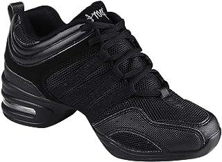 Gtagain Contemporáneo Jazz Zapatos Mujer - Lona Cordones Za