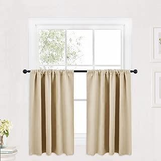 Best narrow ruffle curtains Reviews