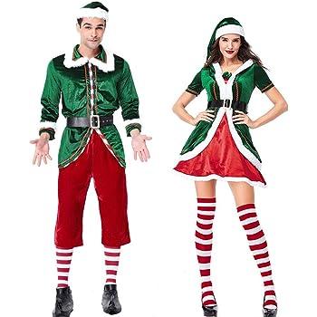 Nordira - Disfraz de Elfo de Pareja para Hombre, para Navidad ...