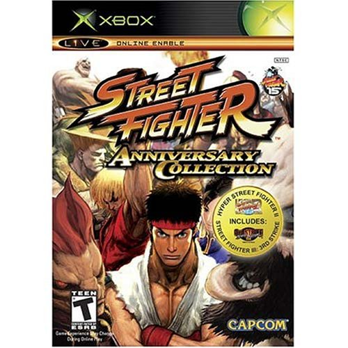 Street Fighter Anniversary Collection (Best Street Fighter Game For Ps2)