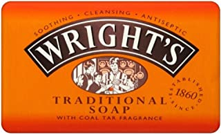 Wright's Coal Tar Traditional Soap (125g) - Pack of 6
