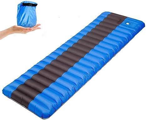 Colchoneta para Acampar Elástica esponja al aire inflable que ...