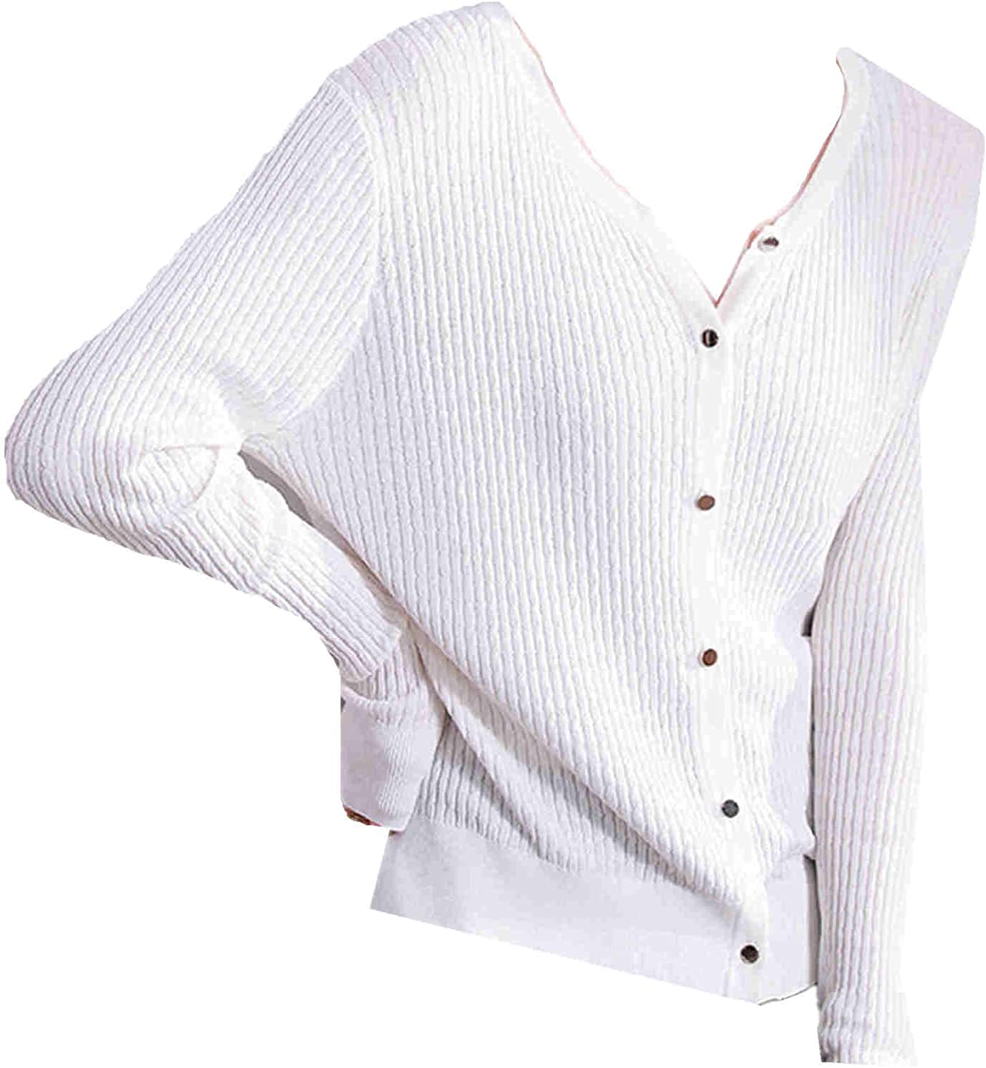 YYCCOO Ice Hemp Knitted supreme Lightweight L Max 52% OFF Summer Cardigan and Spring