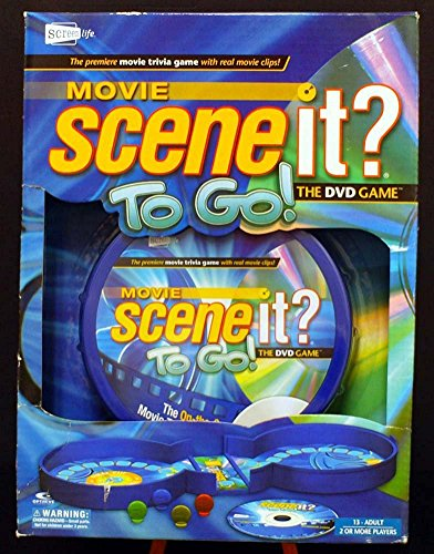 Movie Scene It? To Go! DVD Travel Game