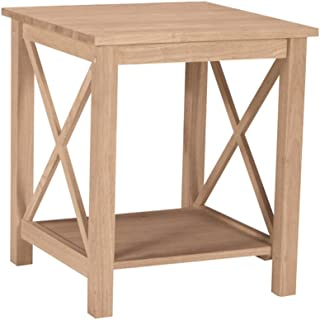 Best unfinished end tables Reviews