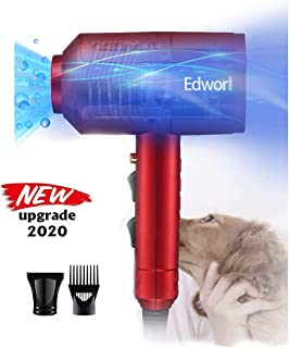 SHELANDY 3.2HP Stepless Adjustable Speed Pet Hair Force Dryer Dog Grooming Blower with Heater Free Paws Dog Dryer 4.0 HP 2 Speed Adjustable Heat Temperature Pet Dog Grooming Hair Dryer Blower Professional with 5 Different Nozzles and a Shower Massage Glove iPettie 2 in 1 Pet Grooming Hair Dryer Blower with Slicker Brush   Best Fit for Short Haired and Medium Coated Breeds IONE Dog Cat Hair Dryer,Professinal Double Force Gooming Blower Dryer for Medium/Small Pets,IEC Certificated