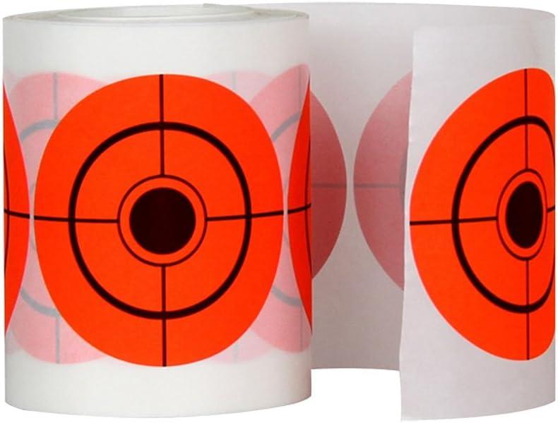 VORCOOL - 250 unidades de 7,5 cm, adhesivo para torneado de diana redonda