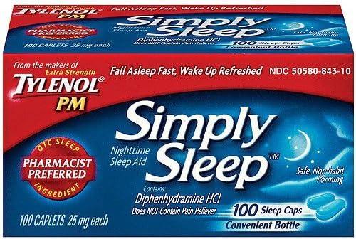 Top 10 Best simply sleep nighttime sleep aid Reviews