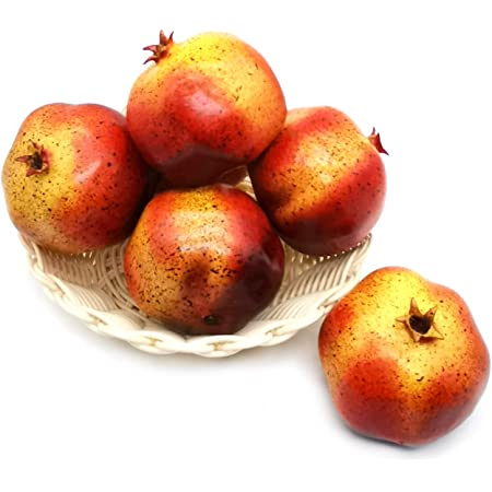 LZIYAN Simulation Mini Pomegranate Artificial Lifelike Fruit Christmas Party Decor Accessories